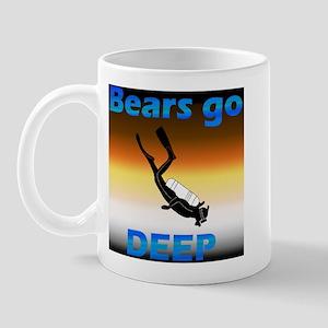 Scuba Bears Go Deep Mug