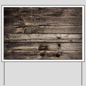 rustic primitive grey barn wood Yard Sign