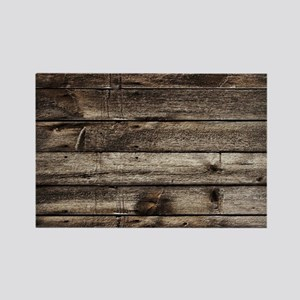 rustic primitive grey barn wood Magnets
