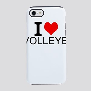 I Love Volleyball iPhone 8/7 Tough Case