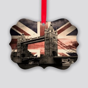 Union Jack London Picture Ornament