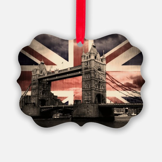 Union Jack London Ornament