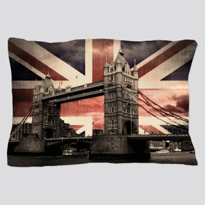 Union Jack London Pillow Case