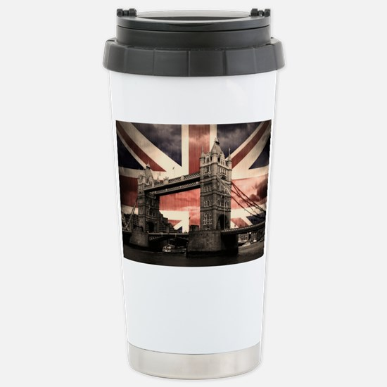 Union Jack London Stainless Steel Travel Mug