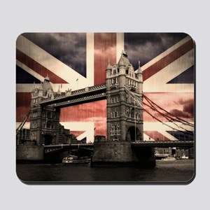 Union Jack London Mousepad