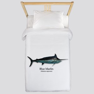 Blue Marlin Twin Duvet