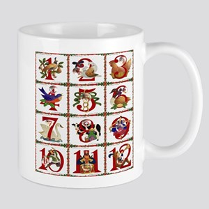 12 Days Of Christmas Mugs