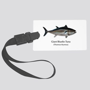 Bluefin Tuna Large Luggage Tag