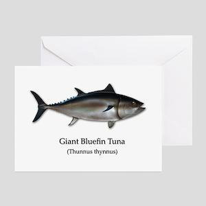 Bluefin Tuna Greeting Cards (Pk of 20)