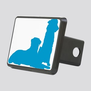 Pair of Dogs Rectangular Hitch Cover