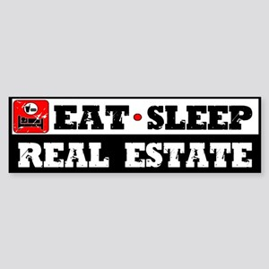 Real Estate Sticker (Bumper)