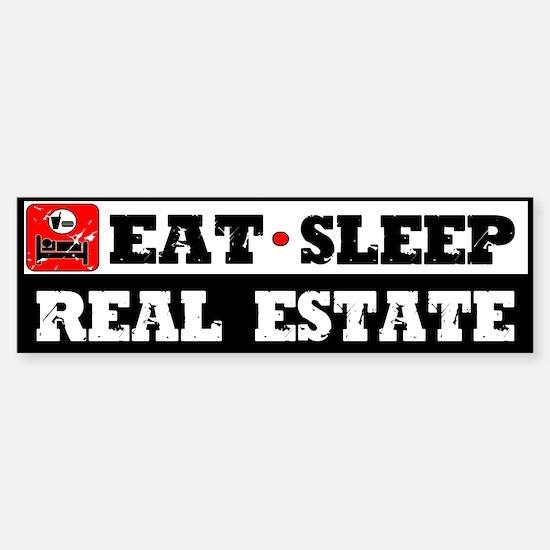 Real Estate Sticker (Bumper)