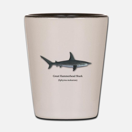 Great Hammerhead Shark Shot Glass