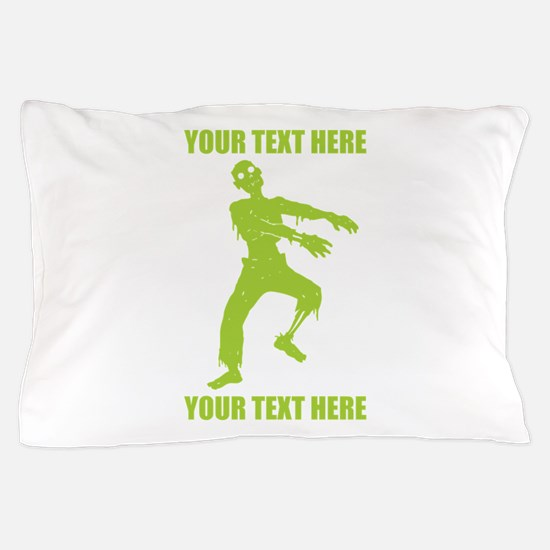 Personalized Zombie Pillow Case