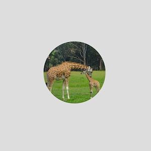 Baby Giraffe Mini Button