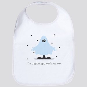 I'm a ghost you can't see me Baby Bib