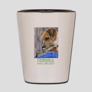 Friends of norfolk animal care center Shot Glass