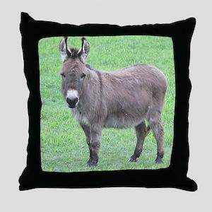 Merlin the Mini Donk Throw Pillow