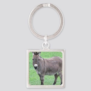 Merlin the Mini Donk Square Keychain