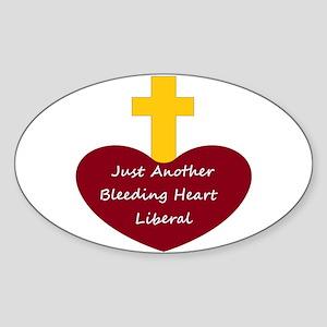 Bleeding Heart Liberal Sticker