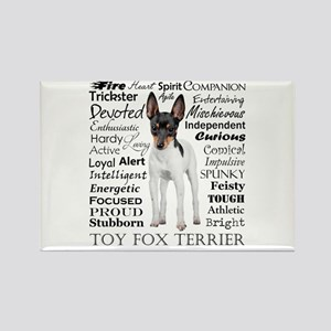 Toy Fox Terrier Traits Magnets