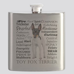 Toy Fox Terrier Traits Flask