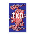 TKD Dragon Wall Decal