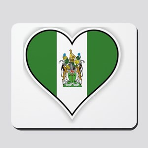 Flag of Rhodesia (1968–1979) Mousepad