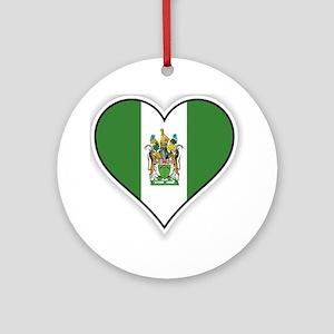 Flag of Rhodesia (1968–1979) Ornament (Round)