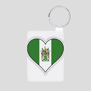 Flag of Rhodesia (1968–1979) Keychains