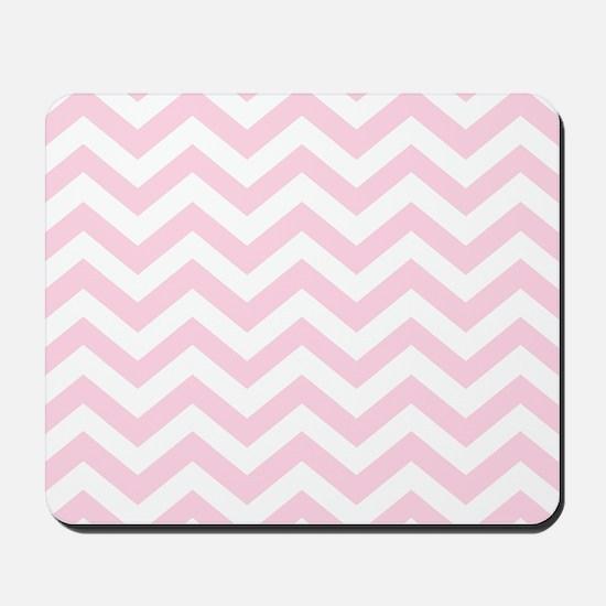 Pink, Baby: Chevron Pattern Mousepad