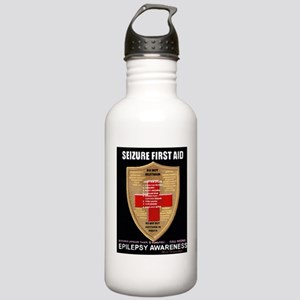 Seizure First Aid Shie Stainless Water Bottle 1.0L