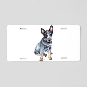 foster Aluminum License Plate