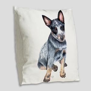 foster Burlap Throw Pillow