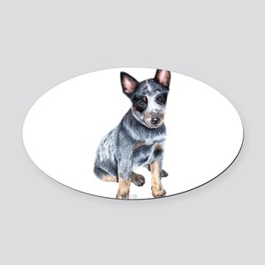 foster Oval Car Magnet