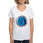 USS HOOPER Women's V-Neck T-Shirt