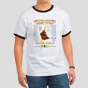 operation desert storm gulf war veteran T-Shirt