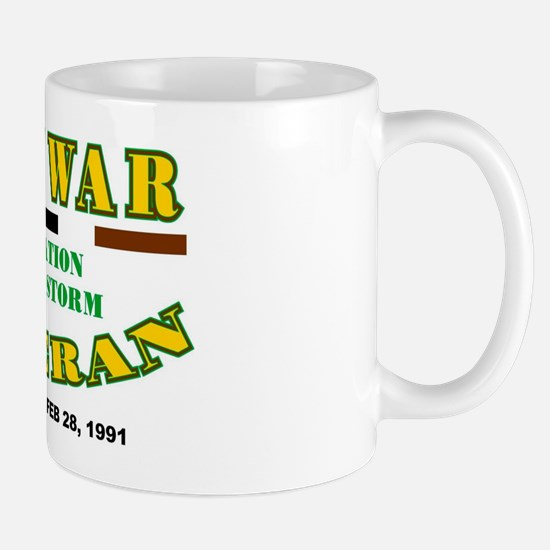 GULF WAR VETERAN OPERATION DESERT STORM Mug