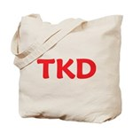 Tkd Taekwondo Tote Bag