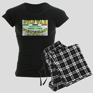GULF WAR VETERAN OPERATION D Women's Dark Pajamas