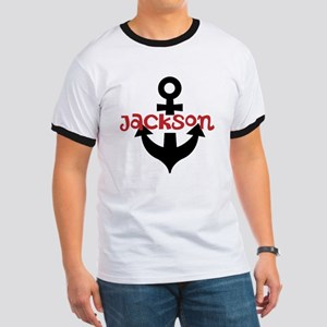 Personalized Cruise Anchor Ringer T
