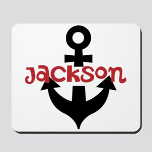 Personalized Cruise Anchor Mousepad
