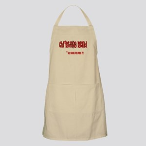 Christmas Island on Bush tv BBQ Apron