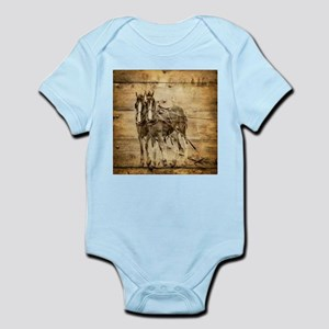 western country farm horse Body Suit