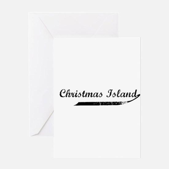 Christmas Island Flanger Greeting Card