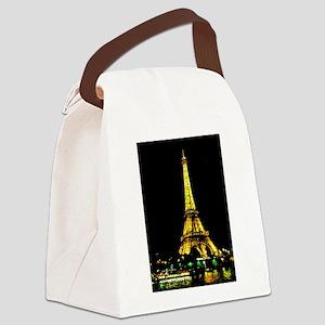 La Tour Eiffel Canvas Lunch Bag