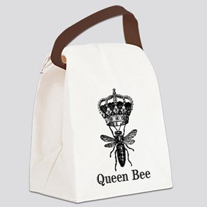 Queen Bee Canvas Lunch Bag