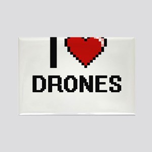 I love Drones Magnets
