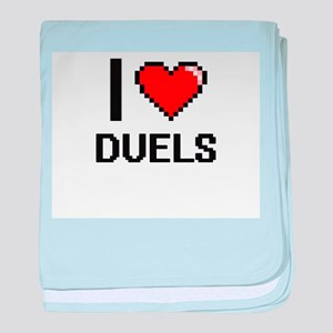 I love Duels baby blanket
