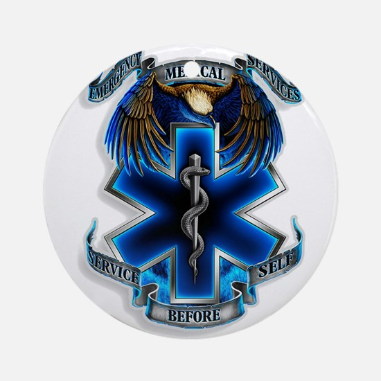 Emergency Medical Service Ornament (Round)